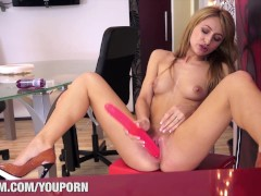 Porn Casting with Carla Flames