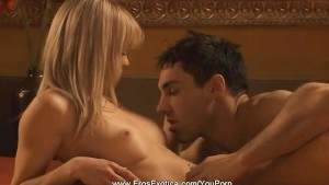 Blonde Intimate Anal Action