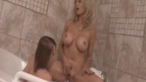 Lesbian Lust Between Stepmom and Daughter