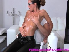 FemaleAgent MILF gets ...