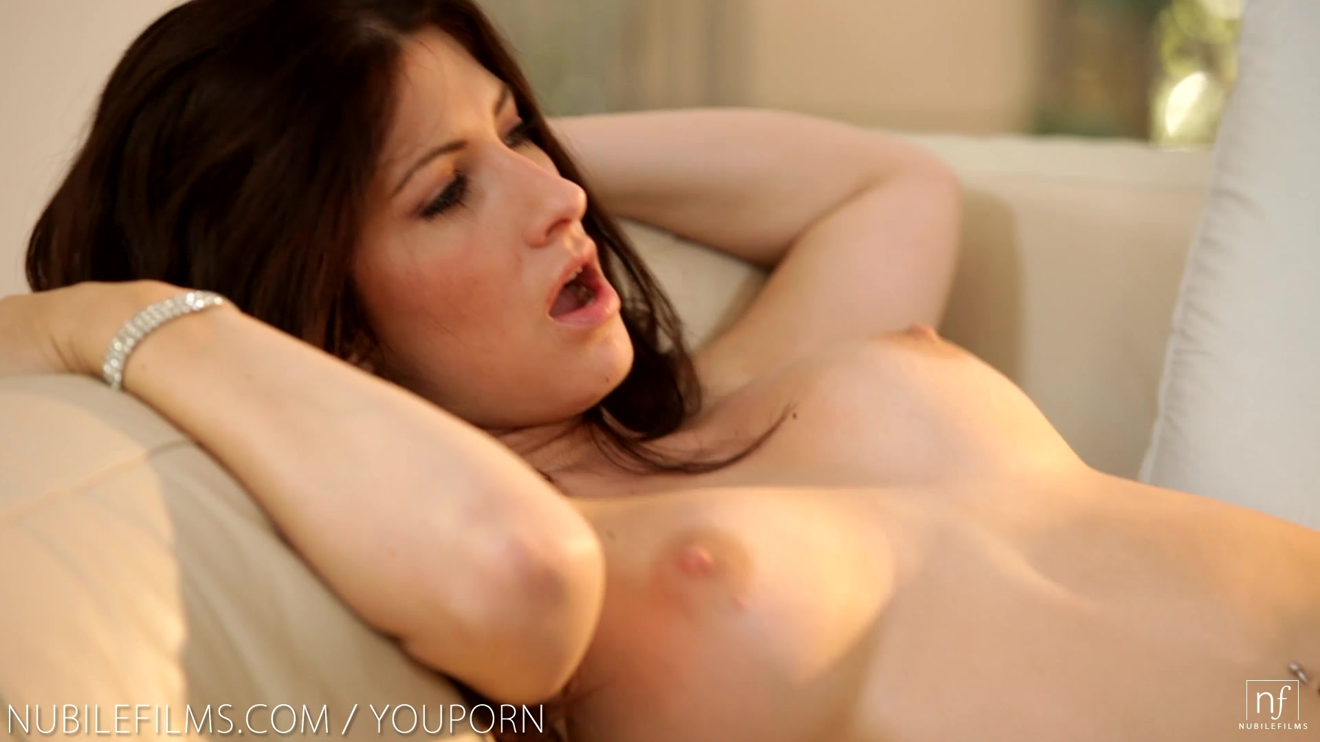 Nubile Films - Busty beauty Karina White gets her perfect tits jizzed