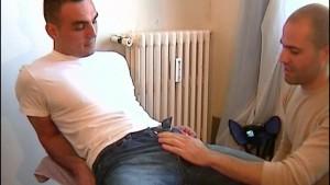 2 hunk guys having hot sex!