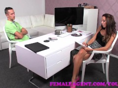 FemaleAgent Amazing casting with a delicious skinny stud