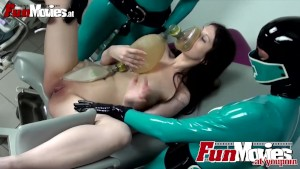 Latex Nurses finger Sarah Dark