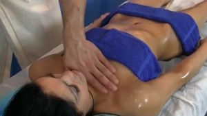 oiled and fucked during a massage