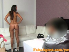 FakeAgent Creampie for stunning young amateur