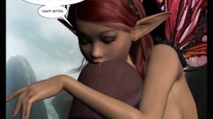 3D Comic: Fairy. Episodes 1-2