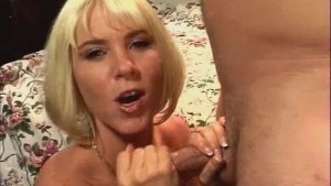 Sexy Woman Wow Handjob