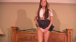 Schoolgirl masturbation instruction