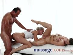 - Massage Rooms Threesom...