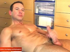 Picture A sexy swimmer guy serviced by us: get wanked his...