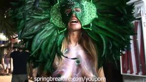 Public Nudity Milfs at Fantasy Fest (Like Mardi Gras but in Key West)