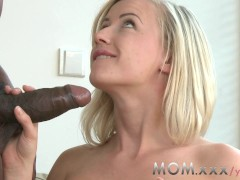 YouPorn - MOM Blonde MILF with B...