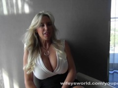 Wifeys World - No Hands Orgasm