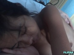 hot asian babe gets fucked in the morning