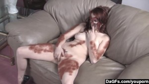 She-Wolf Masturbating Furiously