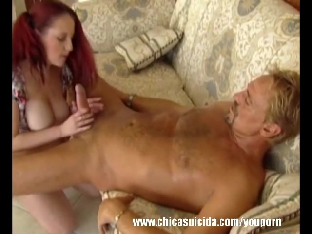 Suited Dude Bones & Tit Fuck A Sexy Shortie Redhead