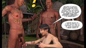 New Adventures of Cabin Boy 3D Gay Cartoon Animated Comics
