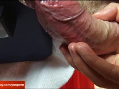 Picture Greg a sexy french guy get wanked his very h...