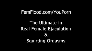 Hot Teen Masturbates to Uncontrollable Squirting Orgasms