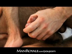 Picture ManRoyale Hot guy massages a bodybuilder s c...