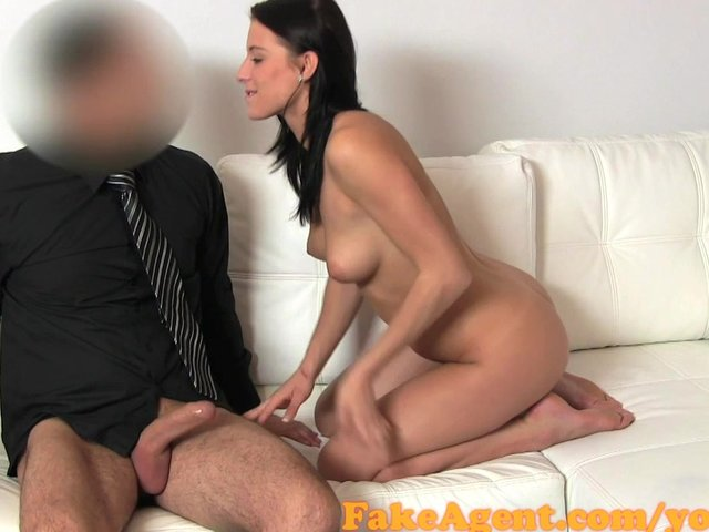fake agent casting anal