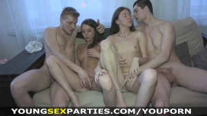 Young Sex Parties - Teens share boyfriends' dicks