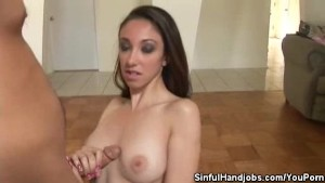 Jay Star And Her Magic Hands Make Her Guy Cum