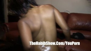 Mixed Rican Pussy fucked and nut leaked out