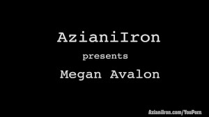 Aziani Iron Megan Avalon fitness Model gets naked