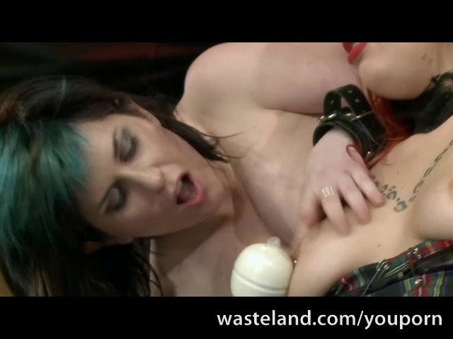 Angry FemDom Makes Her Female Slave Submit To Massive Orgasms