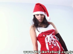 - Mrs Santa loves to suc...