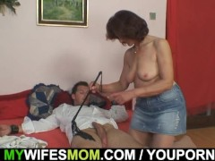 Wife leaves and she fu...