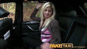 FakeTaxi Pussy dripping over big thick cock