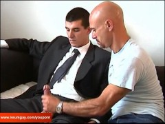Picture Full video: Guillaume a real straight guy ge...