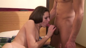 French Milf Takes it In The Ass - Telsev