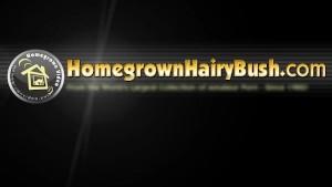 Natty Bush Creamed on her Hairy Muff