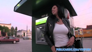 PublicAgent Massive Hungarian tits bouncing as she rides bigcock