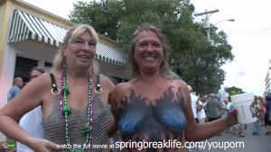 Fantasy Fest in Key West Daytime MILF Nudes