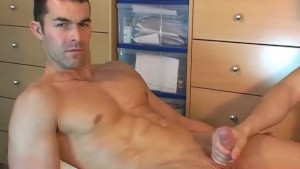 Full video - Straight guy serviced: Nicolas get wanked his hard cock in spite of him !