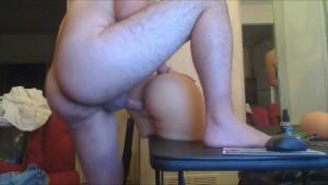 Asian guy fucking sex toy horny fuck porn part 2