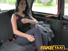 : FakeTaxi Show girl with big tits fucks for cash
