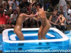 Chicago Amateur Oil Wrestling at Nudist Resort