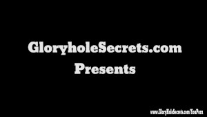 Gloryhole Secrets BBW Tiffany loves every drop of cum POV