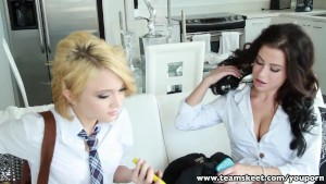TeamSkeet compilation hot petite teens banged facialized