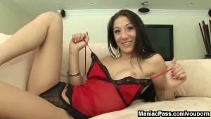Latina handjob from Kira Kroft