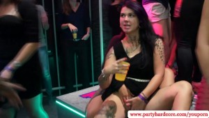 Amateur party sluts fingered and fucked