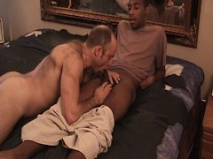 White guy loves black cock - Factory Video