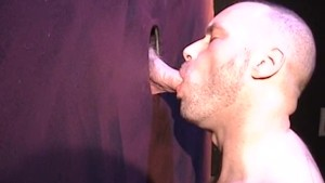 Stud Comes Out From Behind The Glory Hole - Factory Video