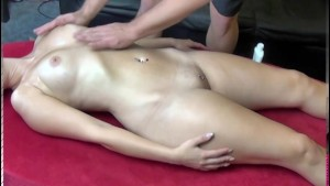Massage Sex with blond Amateur